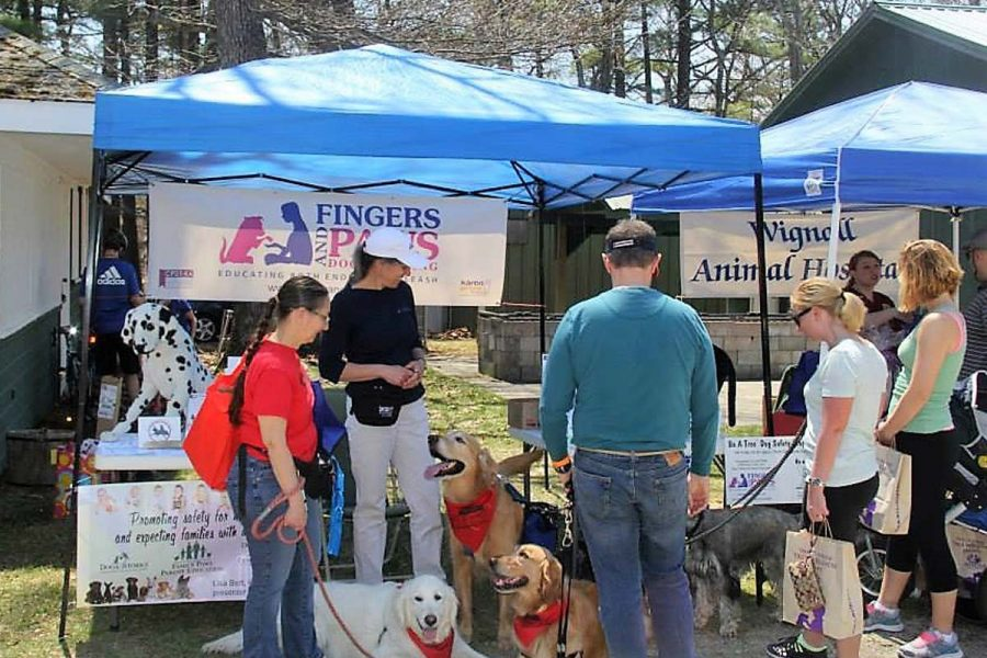 Lowell Humane Society Booth